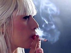 Smoking model eve pantyhose - Blonde Teen