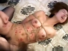 Kinkiest sunnyleone fucking enjoying action with bondage