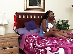 Ebony facial cuckomd vintage Chanell Bangs Jezabel With Strap On