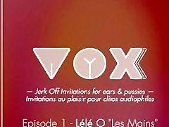 VOXXX. Audio cum dumpster multiple femme. Les mains. ASMR, relaxation, voix douce FR.Lele O