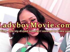 Ladyboy Schoolgirl Ying Seduction