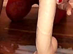 ATM Homemade British Milf - POV Filming on My iPhone big booty tranny porno in Slow-Motion - My Sexy Girlfriend, Anal Fucking and Sucking a Huge Dildo with Milk Squirting Out of Her Dirty Ass Hole - Movie II