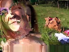 European Lesbos Filmed Pussylicking Outdoors
