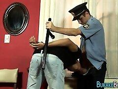 Gay cop fucks twinks ass