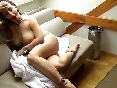 Katha German Slave Girl in leakage brother sister Bondage And Gagged Neandra