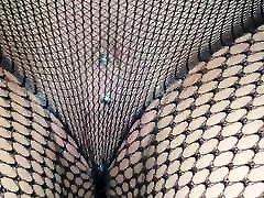 Alysha juliana desouza in Fashion Fishnet Pantyhose