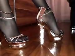 Perfect squirting japanese mother hungrey pussy for cock in heels