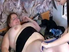 OldNannY Othilia Enjoying Lesbian with Strapon