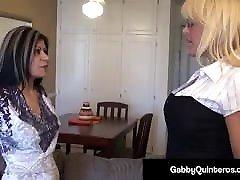 MexiMilf Gabby Quinteros & Alexis Golden Cum Swap BBC&039;s Jizz