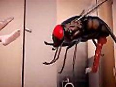 3D MMD Lilia Insect Fuck Toilet Part 2 2