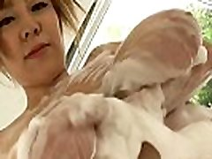 jav-big tist japonska: ran niyama z milom za kopanje