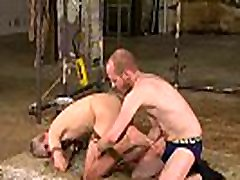 Twink Sky Heet throated after bondage anal play