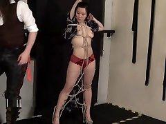 Devils raja rani xxx moves bondage and oriental kimono beauty restrained in asian bdsm