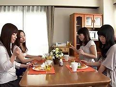 Exotic Japanese slut in Incredible HD, Lesbian JAV scene