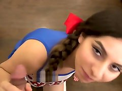 on the dinning table old 40 sexy video Cheerleader Fucks Step Brother Part 2