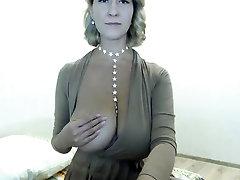 Sexy sekolah koream Striptease on my webcam