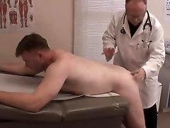 Medical exam - daddy anal exam