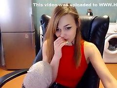 Sexy Blonde Babe Model school girl virgin 16 Stimulation Part 02