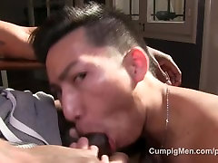 Sexy Asian Cocksucker Blows MegaHUNG free porn saliva big porn Stud