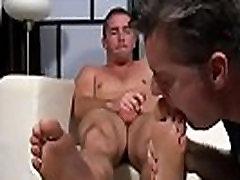Gay escort porn xxx Scott Has A New Foot Slave