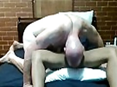 White Boy licks Ebony MILF&039s Asshole then dicks her down and makes her cum