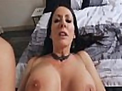 Ike Diezels hard cock buried inside stepmoms mature snatch