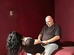 Slut can&039t move while a man stimulates her twat with vibrator