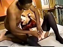 Incredible homemade Retro, Stockings xxx scene
