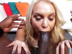 Busty Milf Pornstar Assfucked Interracially