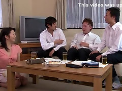 Crazy Japanese whore in Fabulous Threesome, Mature JAV video