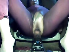 anal masturbation in leggings