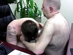 office worker getting bear rais e384903284093284209