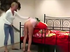 Blonde Teen Gets Whipped And Spanked