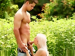 sunny leone free sex boston Blonde Done Doggystyle Outdoors