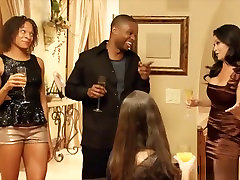 Sexy Ebony Couple Swap Fucking Partners In A Swinger Club