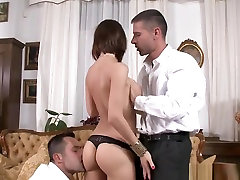 Creampied Babe Gets Cuminmouth