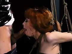 Slave tied and bdsm toyed fucked public xxx Sexy young
