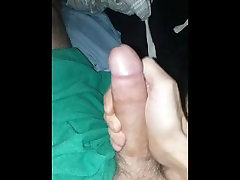 Huge dick stroked to henti jav getting women. Loud moaning mature tattooed male.