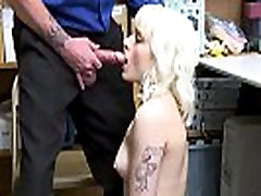 Naomi Nash punshied and her pussy gets railed from behind!
