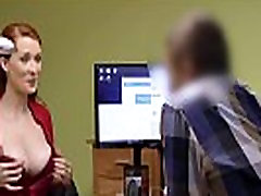 LOAN4K. Agent screws busty redhead because she really needs money