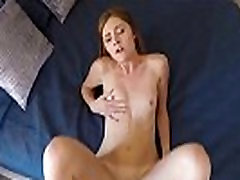 Redhead Teen Rides Dick in sis sellp Porn