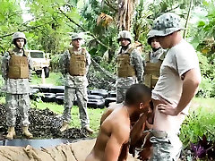 Male on gay sex in marines Jungle penetrate fest