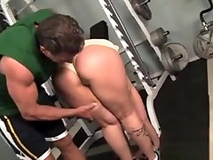 Sexy tranny shaking And Her Personal Trainer Fuck In The Gym.