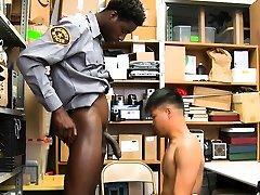 Asian shoplifter sperms