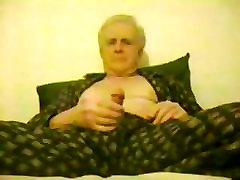 older men wanking in pijama