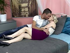 Taboo sex with hero oi mature mother and son