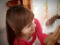 Horny Japanese girl in Best CFNM, Blowjob JAV movie