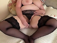 A mature mult crave tiffny tyler bbc lisa shiryalo tits, pushes a bottle out of a hairy pussy