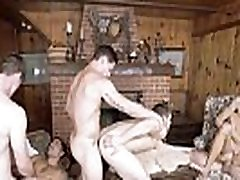 Aspen and Colby Keller and Griffin Barrows and Noah Jones and Vadim Black and Xander Brave - Twink Peaks Part 4 - Jizz Orgy - Men.com