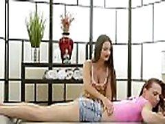 Two friends test nuru massage